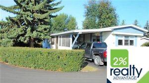 Parkside Estates Mobile Home $44,900 - Listed By 2% Inc.
