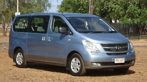 2010 Hyundai iMAX TQ-W Blue 4 Speed Automatic Wagon Winnellie Darwin City Preview