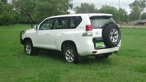 2012 Toyota Landcruiser Prado KDJ150R GX White 5 Speed Sports Automatic Wagon Winnellie Darwin City Preview