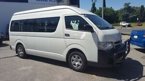 2010 Toyota Hiace TRH223R MY11 Commuter High Roof Super LWB White 4 Speed Automatic Bus Wodonga Wodonga Area Preview