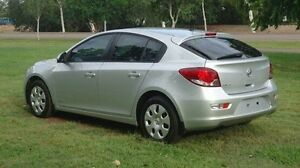 2012 Holden Cruze JH Series II MY13 CD Silver 6 Speed Sports Automatic Hatchback Winnellie Darwin City Preview