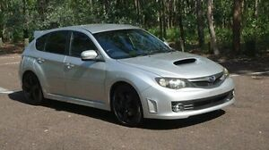 2008 Subaru Impreza G3 MY08 WRX AWD STi Silver 6 Speed Manual Hatchback Winnellie Darwin City Preview