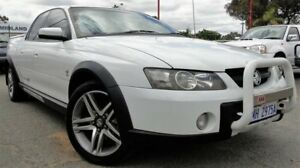 2004 Holden Crewman VY II Cross 8 White 4 Speed Automatic Utility Bellevue Swan Area Preview