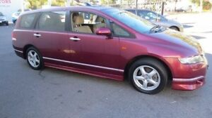 2006 Honda Odyssey 20 MY06 Upgrade Luxury Red 5 Speed Sequential Auto Wagon West Croydon Charles Sturt Area Preview
