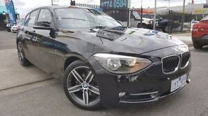 2012 BMW 118i F20 Black 8 Speed Sports Automatic Hatchback Dandenong Greater Dandenong Preview