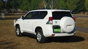 2012 Toyota Landcruiser Prado KDJ150R GXL White 5 Speed Sports Automatic Wagon Winnellie Darwin City Preview