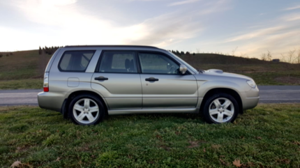 subaru forester xt turbo O'Malley Woden Valley Preview