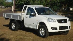 2012 Great Wall V200 K2 MY12 White 6 Speed Manual Cab Chassis Winnellie Darwin City Preview