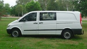 2010 Mercedes-Benz Vito 639 MY10 111CDI Low Roof Comp White 5 Speed Automatic Van Winnellie Darwin City Preview