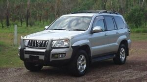 2006 Toyota Landcruiser Prado KDJ120R GXL Silver 6 Speed Manual Wagon Winnellie Darwin City Preview