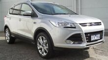 2015 Ford Kuga TF MY15 Trend AWD Silver 6 Speed Sports Automatic Wagon Bundoora Banyule Area Preview