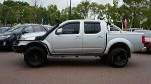 2011 Nissan Navara D40 ST Silver 6 Speed Manual Utility Winnellie Darwin City Preview