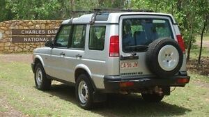 2002 Land Rover Discovery 03MY Td5 Silver 4 Speed Automatic Wagon Winnellie Darwin City Preview
