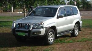 2005 Toyota Landcruiser Prado KZJ120R GXL Silver 5 Speed Manual Wagon Winnellie Darwin City Preview