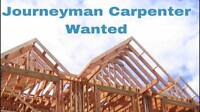Wanted: Experienced Journeyman Carpenter