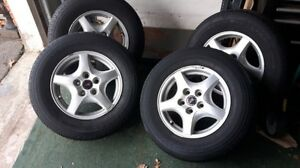All Season Tires with Alloy Rims
