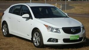 2013 Holden Cruze JH Series II MY13 Equipe White 6 Speed Sports Automatic Hatchback Winnellie Darwin City Preview