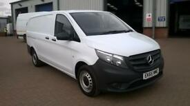 Mercedes-Benz Vito LONG 114CDI BLUETEC VAN EURO 5 DIESEL MANUAL WHITE (2015)