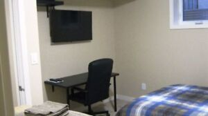 Fully Furnished Basement Bedroom Available for Week to Week