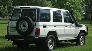 2011 Toyota Landcruiser VDJ76R MY10 Workmate White 5 Speed Manual Wagon Winnellie Darwin City Preview