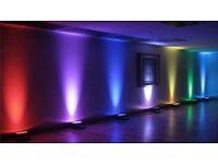 Asian Indian Pakistani Punjabi Bollywood Bhangra mehndi DJ Uplighting Uplighters LED Dancefloors