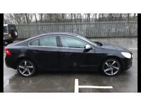 2012 61reg Volvo S60 R Design D3 Black Too Spec Cheapest Around Quick Sale