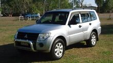 2011 Mitsubishi Pajero NT MY11 GLX Silver 5 Speed Sports Automatic Wagon The Narrows Darwin City Preview
