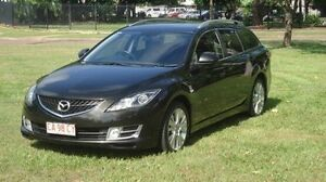 2008 Mazda 6 GH1051 Classic Black 5 Speed Sports Automatic Wagon Winnellie Darwin City Preview