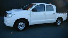 2011 Toyota Hilux KUN16R MY11 Upgrade SR White 5 Speed Manual Dual Cab Pick-up Moorabbin Kingston Area Preview
