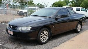 2004 Holden Ute VY II S Black 5 Speed Manual Utility Winnellie Darwin City Preview
