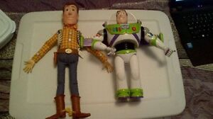 toy story talking toys woody pull string buzz lightyear