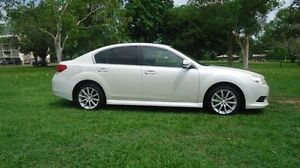 2010 Subaru Liberty B5 MY10 2.5i Lineartronic AWD White 6 Speed Constant Variable Sedan Winnellie Darwin City Preview