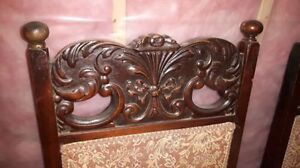 Antique dining chairs set of 6 Cornwall Ontario image 4