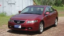2004 Honda Accord Euro CL Red 5 Speed Automatic Sedan The Narrows Darwin City Preview