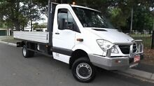 2011 Mercedes-Benz Sprinter 516 CDI 4X4 TRAY White 6 Speed Manual Cab Chassis Croydon Burwood Area Preview