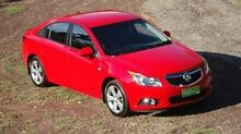 2013 Holden Cruze JH Series II MY13 Equipe Red 6 Speed Sports Automatic Sedan The Narrows Darwin City Preview