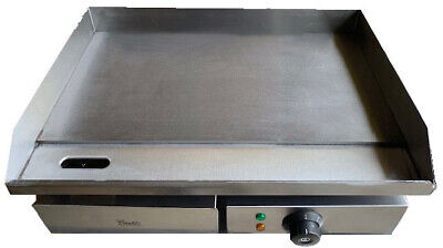 Commercial Steel Griddle Electric Flat Hotplate Burger Grill Fryer 550mm Wide