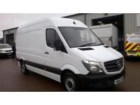 Mercedes-Benz Sprinter 314 MWB VAN EURO 6 DIESEL MANUAL WHITE (2016)