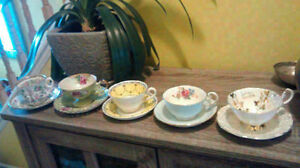 5 Cups + Saucers