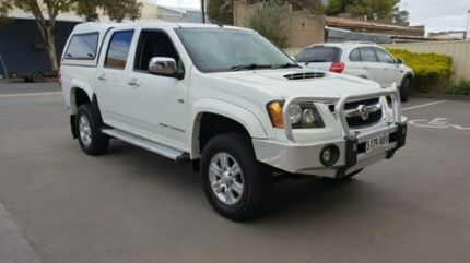 2011 Holden Colorado RC MY11 LT-R (4x4) White 4 Speed Automatic Crew Cab Pickup Melrose Park Mitcham Area Preview