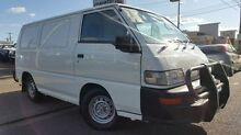 2008 Mitsubishi Express SJ MY09 SWB White 5 Speed Manual Van Doveton Casey Area Preview