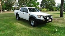 2011 Ford Ranger PK XL Crew Cab White 5 Speed Manual Utility Winnellie Darwin City Preview