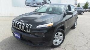 2014 Jeep Cherokee Sport   Local Trade In