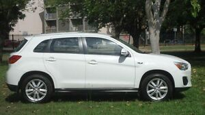 2014 Mitsubishi ASX XB MY14 2WD White 6 Speed Constant Variable Wagon Winnellie Darwin City Preview