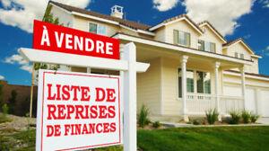 St-jean-sur-richelieu. Reprise de finance. Liste gratuite
