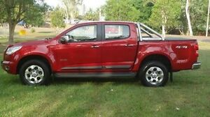 2014 Holden Colorado RG MY14 LTZ Crew Cab Red 6 Speed Sports Automatic Utility Winnellie Darwin City Preview