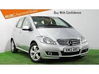 2012 (12) MERCEDES-BENZ A CLASS A160 Avantgarde SE CVT Auto