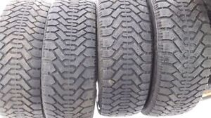 For sale     4-  winter tires   225/60/16