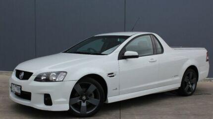 2011 Holden Ute VE II SV6 Thunder White 6 Speed Sports Automatic Utility