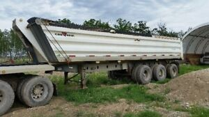 2010 Grav-Haul End Dump Trailer